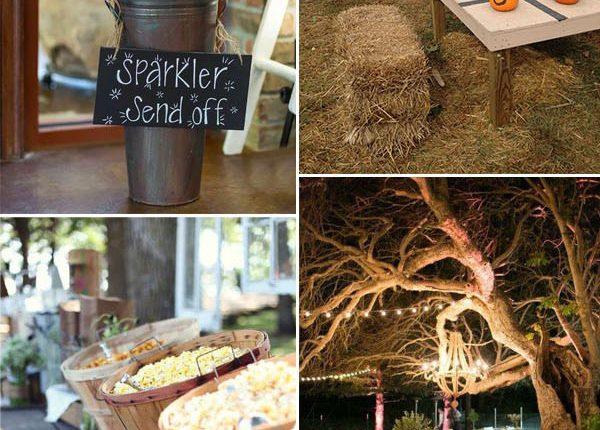 fun and interactive intimate fall wedding ideas
