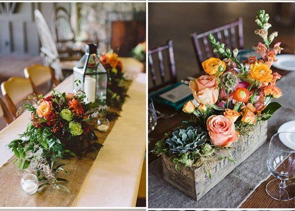 trendy flower wedding centerpieces for fall wedding ideas