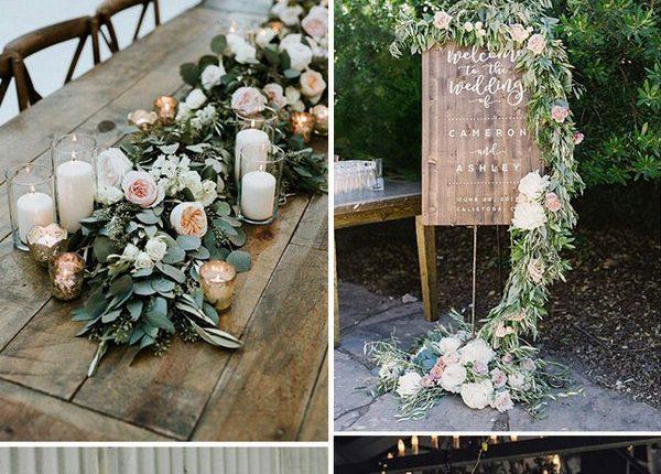 trendy greenery wedding ideas for brides