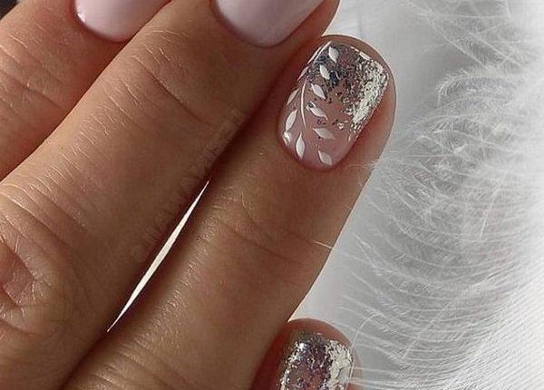 wedding nail art design 2