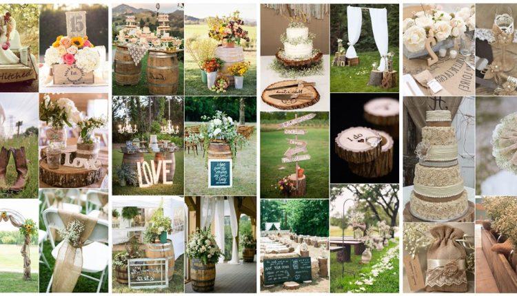 Country Outdoor Wedding Ideas