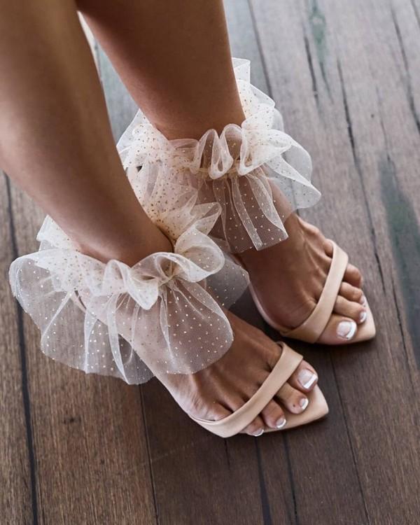 Grace Loves Lace Wedding Shoes #wedding #shoes #weddingshoes