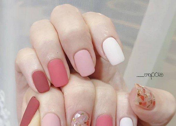 100pro Spring Summer Pastel Neutral Nail Art Designs 1