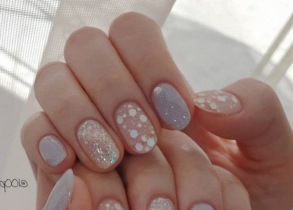 100pro Spring Summer Pastel Neutral Nail Art Designs 16