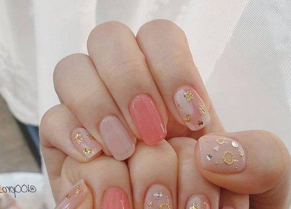 100pro Spring Summer Pastel Neutral Nail Art Designs 53