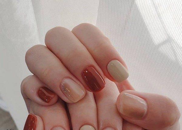 100pro Spring Summer Pastel Neutral Nail Art Designs 55