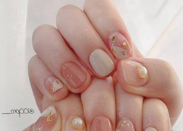100pro Spring Summer Pastel Neutral Nail Art Designs 58