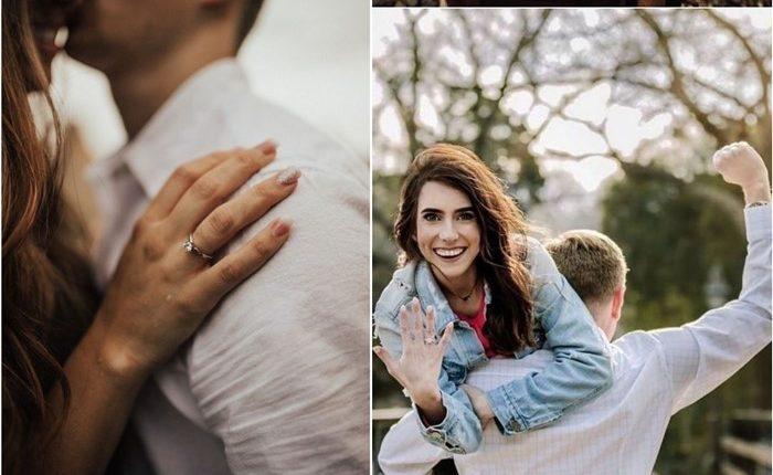 Engagement Ring Shot Engagement Photo Ideas 3