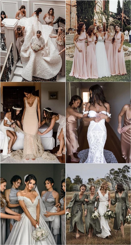 Wedding Photos With Your Bridesmaids #bridesmaid #wedding #weddingphotos #weddingideas