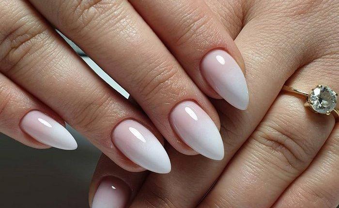 Pink White Nail Art Design Ideas 10