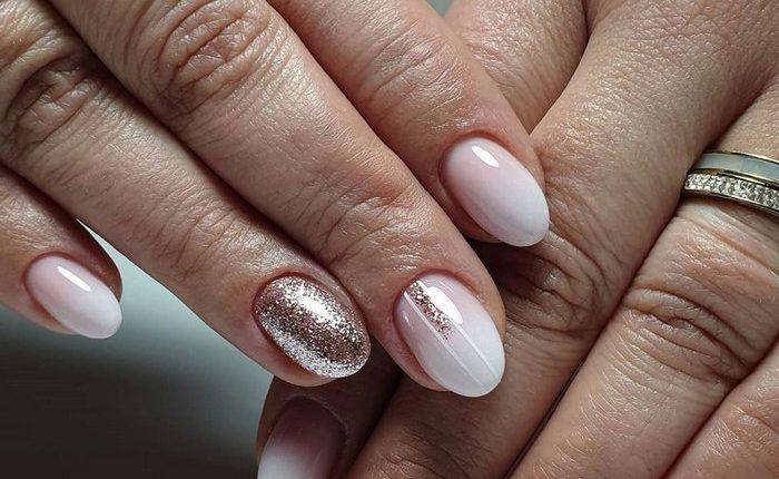 Pink White Nail Art Design Ideas 15
