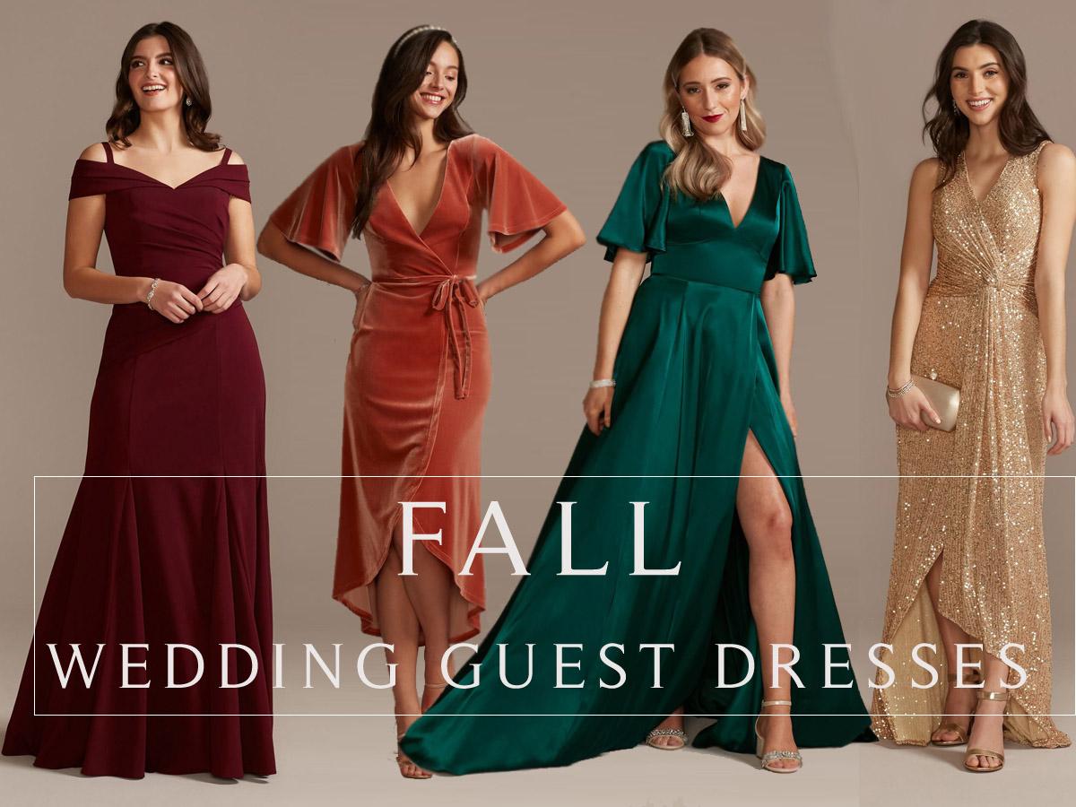 Top 20 Fall Wedding Guest Dresses 20   Roses & Rings